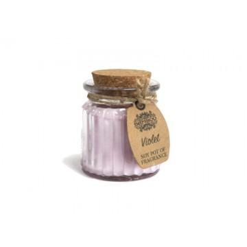 Lumino di soia - Violetta