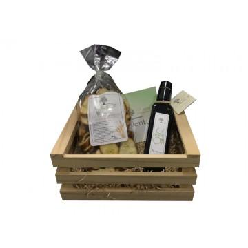 Box In legno con Olio...